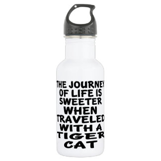 Traveled With Tiger cat Cat 532 Ml Water Bottle