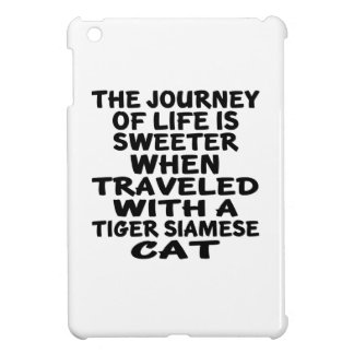 Traveled With Tiger siamese Cat Case For The iPad Mini