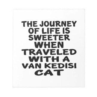 Traveled With Van kedisi Cat Notepad