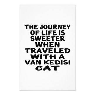 Traveled With Van kedisi Cat Stationery