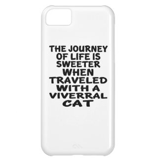 Traveled With Viverral Cat iPhone 5C Case
