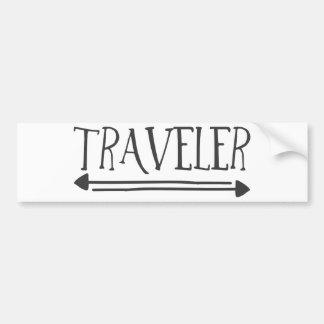 Traveler Bumper Sticker