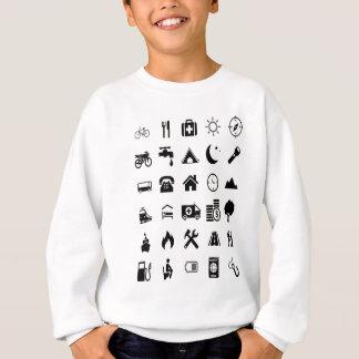 Traveler Help Extreme light Black model Sweatshirt