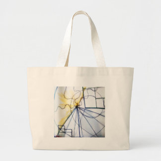 Traveler of Many Cosmos Large Tote Bag