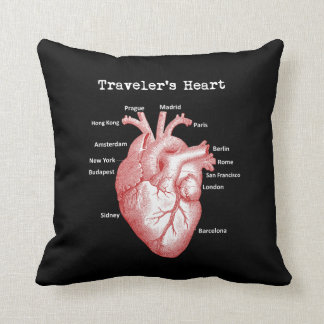 Traveler's Heart Pillow