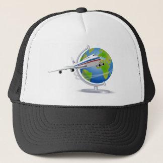 Traveling around the Globe Trucker Hat