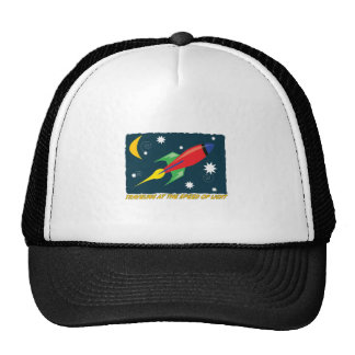 Traveling At The Speed Of Light Hats
