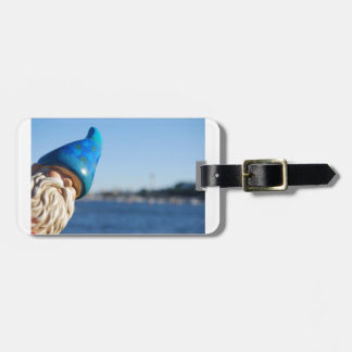 Traveling Gnome Luggage Tag