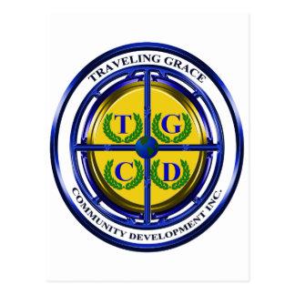 Traveling Grace Community Development Post Card