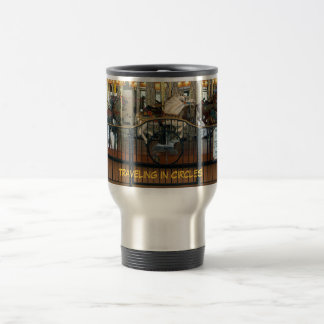 Traveling in Circles travel mug