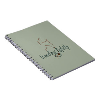 Traveling Lightly Photo Notebook