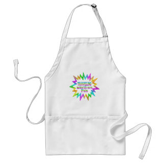 Traveling More Fun Standard Apron