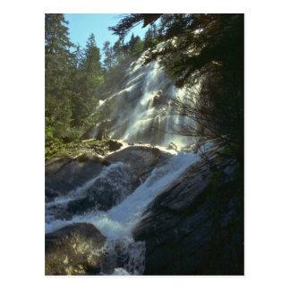 Traveling The Steep Rocks Postcard