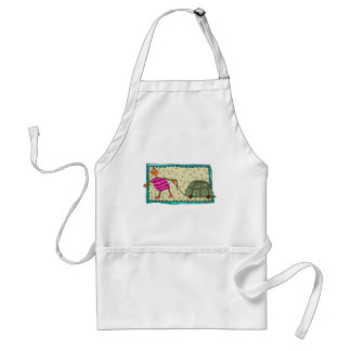 Traveling Turtle Aprons