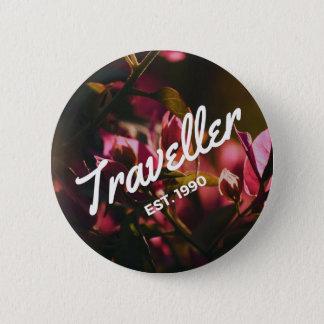 Traveller EST 1990 6 Cm Round Badge
