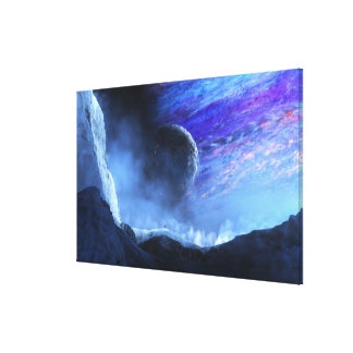 Traveller (Planetside) Canvas Print