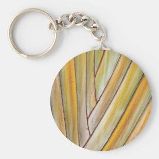 Travellers Tree Key Ring Basic Round Button Key Ring