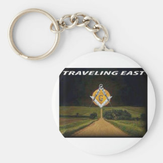Travelling East Key Ring