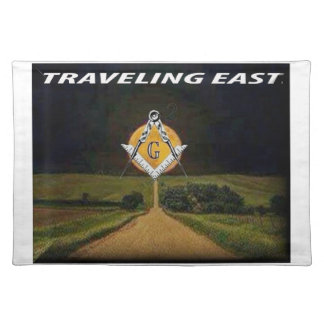 Travelling East Placemat