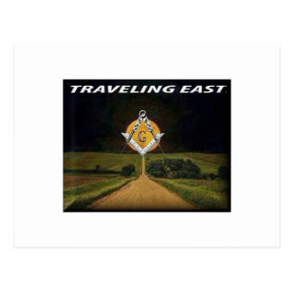 Travelling East Postcard