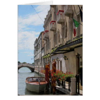 Travelling in Northern Italy Card
