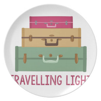 Travelling Light Party Plate