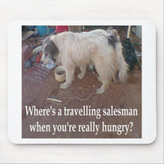 Travelling Salesman Mouse Pad