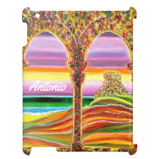 Travels dreamy vision of Italian castle by the sea iPad Covers
