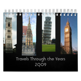Travels Through the Years Wall Calendars