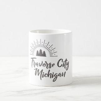 TRAVERSE CITY MICHIGAN MUG