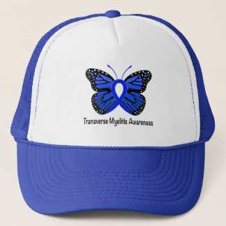 Traverse Myelitis Awareness Butterfly Trucker Hat