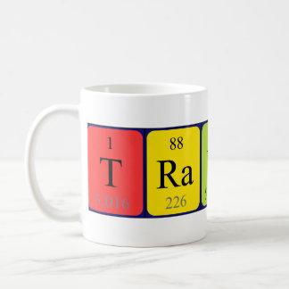 Travis periodic table name mug