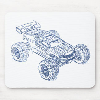 Trax E-Revo 16th Mouse Pad