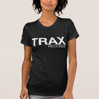 TrAX Records Signature Black Tee