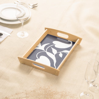 Tray - Floral VIne Serving Trays