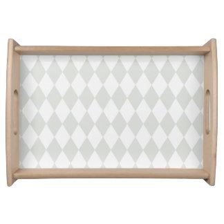 TRAY tray of rhombuses