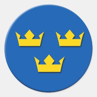 tre kroner sweden stickers
