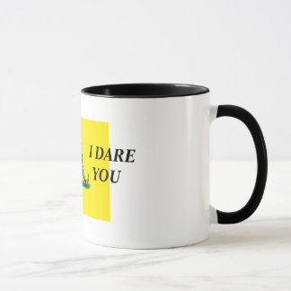 TREAD ON ME  I DARE YOU MUG
