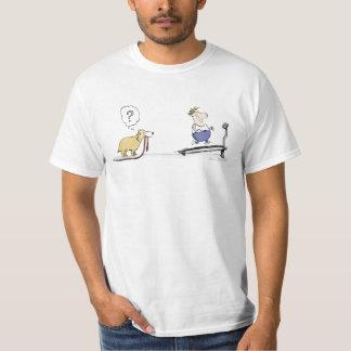 Treadmill Cartoon T-Shirt