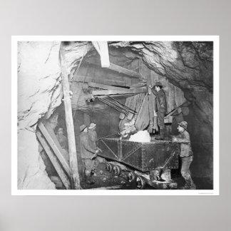 Treadwell Gold Mine Alaska 1916 Poster
