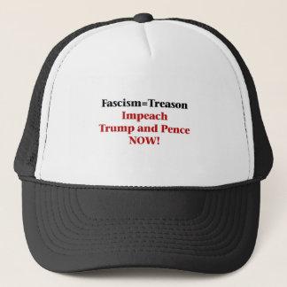 Treason -- Impeach Trump and Pence Trucker Hat