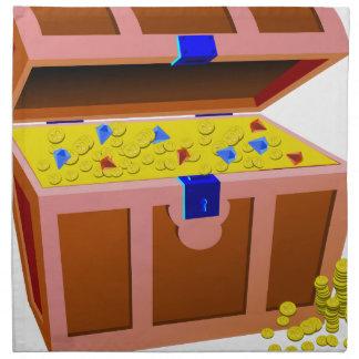Treasure Chest Napkin