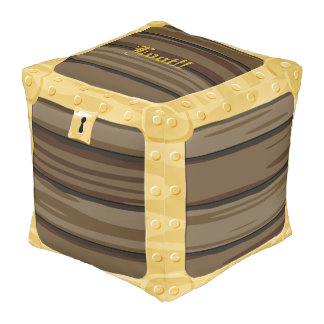 Treasure Chest Pouf