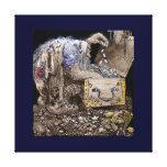 Treasure Chest Troll Canvas Print