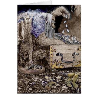 Treasure Chest Troll Card