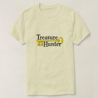 Treasure Hunter with gold key T-Shirt