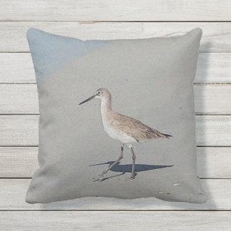 Treasure Island Florida Sandpiper Outdoor Cushion
