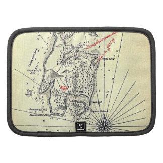 """Treasure Island Map"" Organizers"