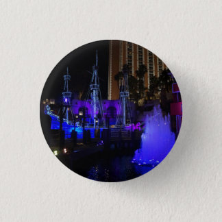 Treasure Island Pirate Ship Pinback Button