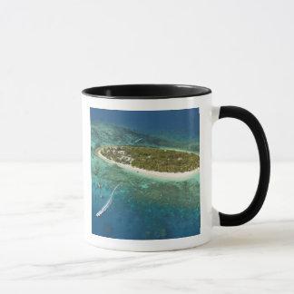 Treasure Island Resort and boat, Fiji Mug